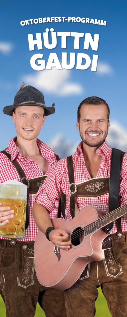 Oktoberfest-Programm von René und Schenk